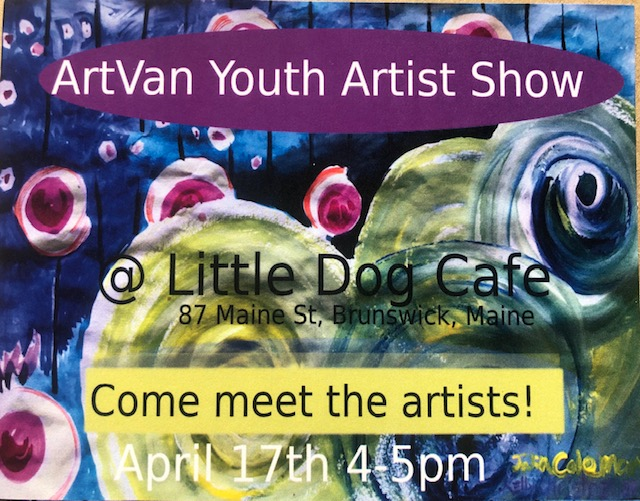 Youth Artist Show flyer