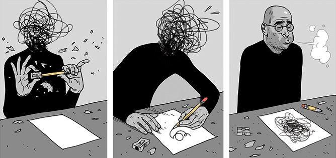 Art Therapy Cartoon