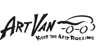 ArtVan Logo (black & white)