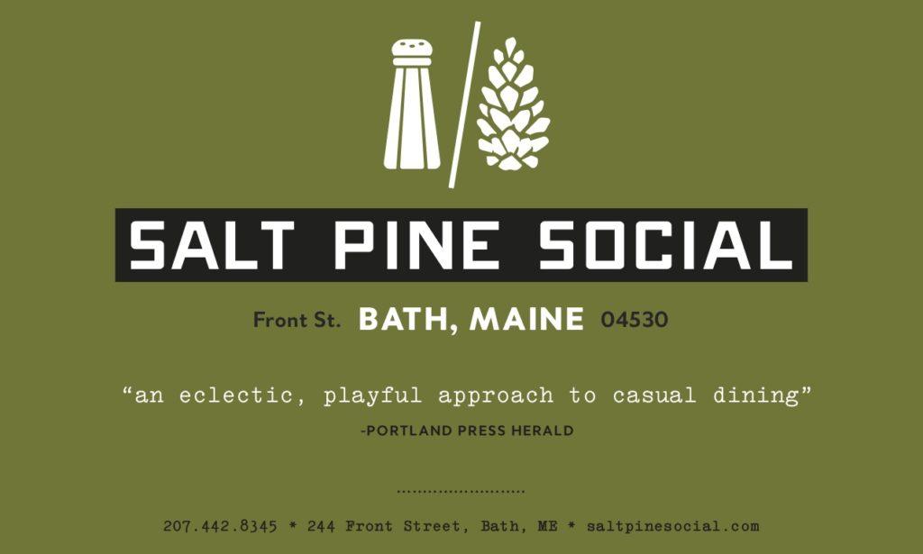 Salt Pine Social Mini Ad